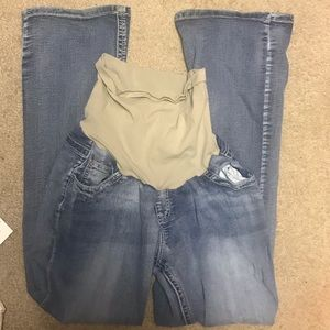 Maternity bootcut jeans
